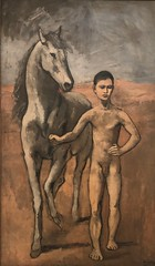 1906, Pablo Picasso, Boy Leading a Horse (R.M.Lenox) Tags: pablopicasso spanish museumofmodernart moma accuratecolor highresolution painting museum chronology timeline