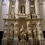 37 Гробница папы Юлия II, 1505-1545. Церковь Сан-Пьетро ин Винколи, Рим