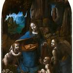 48 Леонардо. Мадонна в гроте, 1508. Лондонская Нац. галерея