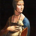 45 Леонардо. Дама с горностаем, 1489. Нац. музей, Краков