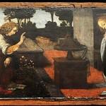 44 Леонардо (возм. Лоренцо ди Креди). Благовещение, 1478, Лувр