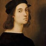 61 Рафаэль. Автопортрет, 1506. Уффици