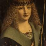 57 Джованни Антонио Больтраффио (школа Леонардо). Св.Себастьян, 1480-е