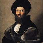 75 Рафаэль Портрет Бальдассаре Кастильоне 1514-15. Лувр