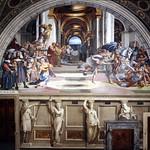 70 Рафаэль. Станца Элиодоро. Изгнание Элиодора из Иерусалимского храма 1511-14
