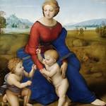 62 Рафаэль. Мадонна на лугу 1506 г.