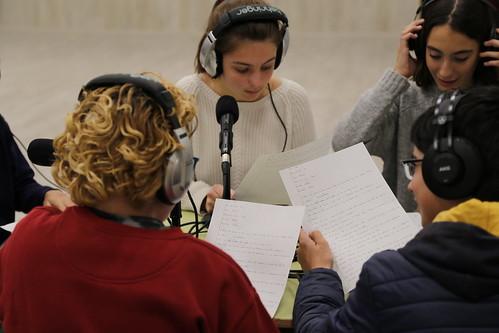 Ràdio, contes i Drets Humans a l'INS La Mallola