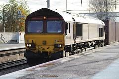 COATBRIDGE CENTRAL 66050 EWS ENERGY (johnwebb292) Tags: coatbridge diesel class 66 66050 ewsenergy ews