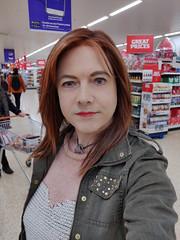 Great Prices! (Joanne (Hay Llamas!)) Tags: transgender transwoman tg brunette tgirl cute uk brit british britgirl casual