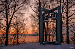 Belltower (thore.bryhn) Tags: sunset bells belltower mjøsa hamar winter