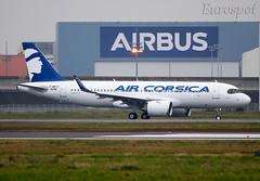 F-WWIP Airbus A320 Neo Air Corsica (@Eurospot) Tags: airbus a320 neo toulouse blagnac aircorsica 9348 fwwip fhxkb