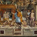 21 Вилла Фарнезина Станца делле Ноцце. Иль Содома. Женитьба Александра Македонского 1519