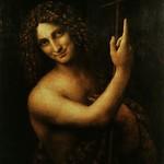 50 Леонардо да Винчи. Иоанн Предтеча 1513-16. Лувр