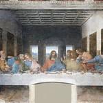 47 Леонардо. Тайная вечеря, 1495-98. Санта-Мария дела Грация, Милан