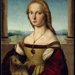 60 Рафаэль. Дама с единорогом. 1505-1506. Галерея Боргезе, Рим