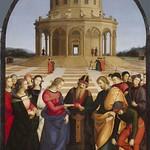 59 Рафаэль. Обручение Марии, 1504. Брера, Милан
