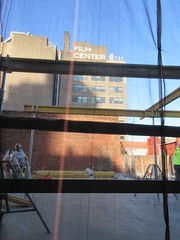 IMG_9930 (Brechtbug) Tags: sixth floor rising 350 352 now be building 2019 midtown manhattan 45th street near times square nyc 11152019 new york city cube architecture traffic transit car cars auto lots steel beams beam red brick wall green shed park brownstone 1920s apts apartment house apartments construction fence november working 6th