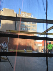 IMG_9929 (Brechtbug) Tags: sixth floor rising 350 352 now be building 2019 midtown manhattan 45th street near times square nyc 11152019 new york city cube architecture traffic transit car cars auto lots steel beams beam red brick wall green shed park brownstone 1920s apts apartment house apartments construction fence november working 6th