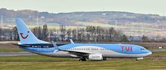 OO-JAU, Belfast City Airport (Albert Bridge) Tags: belfastcityairport boeing737 tuiairlines