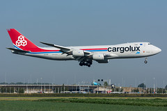 LX-VCI - Cargolux Airlines International - Boeing 747-8R7F (5B-DUS) Tags: lxvci cargolux airlines international boeing 7478r7f b748 747800 ams eham amsterdam schiphol airport airplane aircraft aviation flughafen flugzeug planespotting plane spotting