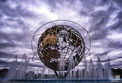 Made in New York (The World) (JoseQ.) Tags: theworld elmundo labola newyork queen globo tierra nubes ciudad monumento