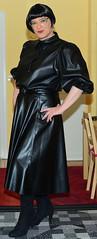 Birgit029746 (Birgit Bach) Tags: fullskirt glockenrock blouse bluse fauxleather kunstleder