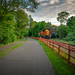 06/21/19 BNSF train on Kenilworth Trail