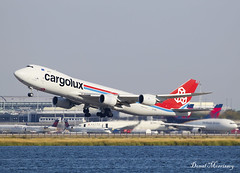 Cargolux 747-8(F) LX-VCL (birrlad) Tags: jfk newyork nyc international airport usa aircraft aviation airplane airplanes airline airlines airliner airways takeoff departing departure rotate climbing runway cargo cargolux freighter freight boeing b747 b748 747 7478f 7478r7f lxvcl