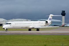 EC-JZV Air Nostrum Bombardier CRJ-900 EGCC 29/9/19 (David K- IOM Pics) Tags: egcc man manchester ringway airport sas scandinavian airlines bombardier crj crj900 crj9 air nostrum