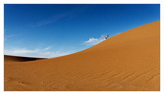 Dunes (Jean-Louis DUMAS) Tags: maroc dune sable paysage landscape landscapesdreams nature ciel sky bluesky people cloud nuage dream trip travel traveler