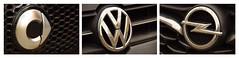 0008 (m.herrmann1979) Tags: kreise circles experiment cars brand automarken smart opel volkswagen vw schwarz anthrazit black kühlergrill kühler