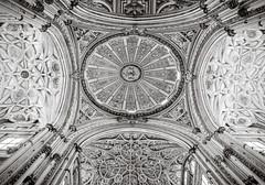 Ceiling Ornaments (Poul-Werner) Tags: andalusia andalusien cathedral cordoba córdoba gislevrejser mezquita spain xpro2 xf16mm architecture mosqueincórdoba pattern travel travelbycoachorbus córdobaprovince