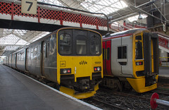 150001 & 158826 (Lucas31 Transport Photography) Tags: trains railway crewe 150001 gwr
