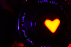 Passion for a lens... ;-) (paoloaddesso) Tags: love canon lens 50mm fd f18 lookingcloseonfriday glass