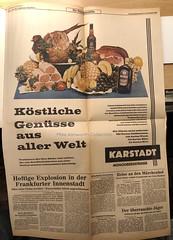 Photo of Run Of Press Colour printing in Germany 1961 - supplement to Penrose Annual : Hamburger Abendblatt, Hamburg, 17/18 Dezember 1960: Run Of Press Farbdruck in Deutschland, 1961 - Beilage zu Penrose Annual: Hamburger Abendblatt, Hamburg, 17./18. Dezember 1961