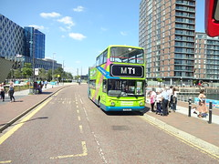Manchester Tour 1 (ee20213) Tags: catch22bus alexander opentopbus salfordquays v158mev alx400 17158 manchester dennistrident