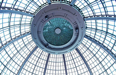 Eye to the Sky (Anthony Mark Images) Tags: sunroof foyer waterfountain dome fallsviewcasino shops niagarafalls ontario canada nikon d850 flickrclickx