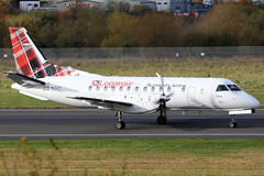 ES-NSD_12 (GH@BHD) Tags: esnsd saab saab340 saab340b nyxair loganair belfastcityairport lm log aircraft aviation turboprop propliner bhd egac