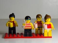 family get together (Elisabeth patchwork) Tags: lego 7artisans together party