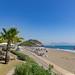 Die Ägäische Küste von Sarigerme, Türkei