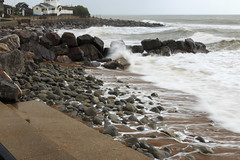 Steephill Cove (Crisp-13) Tags: ventnor isleofwight isle wight steephillcove steephill cove sea coast rocks beach waves storm stormy