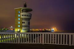 Radarturm am Abend (jörg_grontzki) Tags: holiday travel travelpics q leica leicaq radar river northsea nordsee elbe niedersachsen cuxhaven