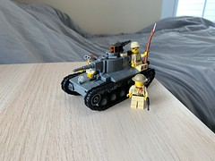 IJA Type 1 Chi-He (ModernBrix) Tags: ija imperial japanese army type 1 chi he medium tank lego moc build creation modern brix modernbrix flickr legos military custom