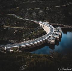 Barrage de Grangent (Quentin Douchet) Tags: auvergnerhônealpes barragedegrangent barragevoûte eau fleuve france loire renewableenergy archdam barrage dam enr water énergierenouvelable