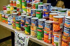 Food For Fines (Greenville, NC) Tags: greenville nc north carolina foodforfines food drive canned charity parking tickets
