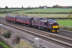 Richer Sounds (JohnGreyTurner) Tags: br rail uk railway train transport colton york yorkshire diesel engine locomotive wcrc westcoast 37 class37 tractor syphon siphon growler