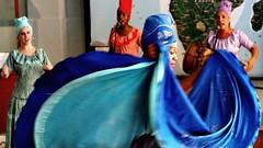 Danzando a Yemayá en la Casa de África de La Habana