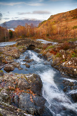 Ashness Bridge in Autumn (Mister Oy) Tags: lakedistrict river ashness bridge landscape scenic cumbria downhill derwentwater skiddaw flow nikond850 nikon2470mmf28evr nikon hdr