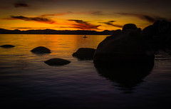 different night, different look (reserves13) Tags: sandharbor laketahoe sunset silhouette yellow red ndfilter