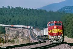 ATSF 513 West at Williams Jct., AZ (thechief500) Tags: atsf arizonadivide bnsf railroads seligmansubdivision williamsjct az usa santaferailway arizona
